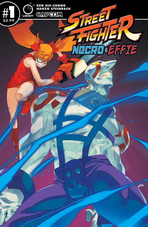 Street Fighter Necro & Effie #1 CVR A