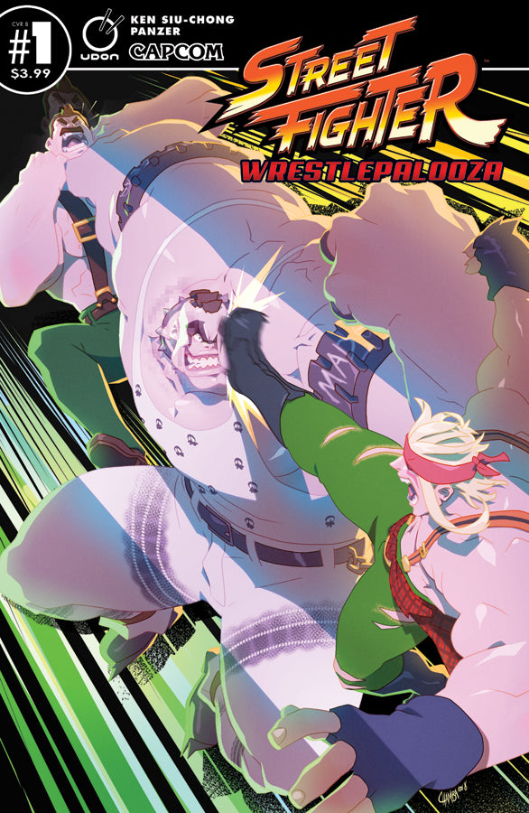 Street Fighter: Wrestlepalooza #1 Cover B