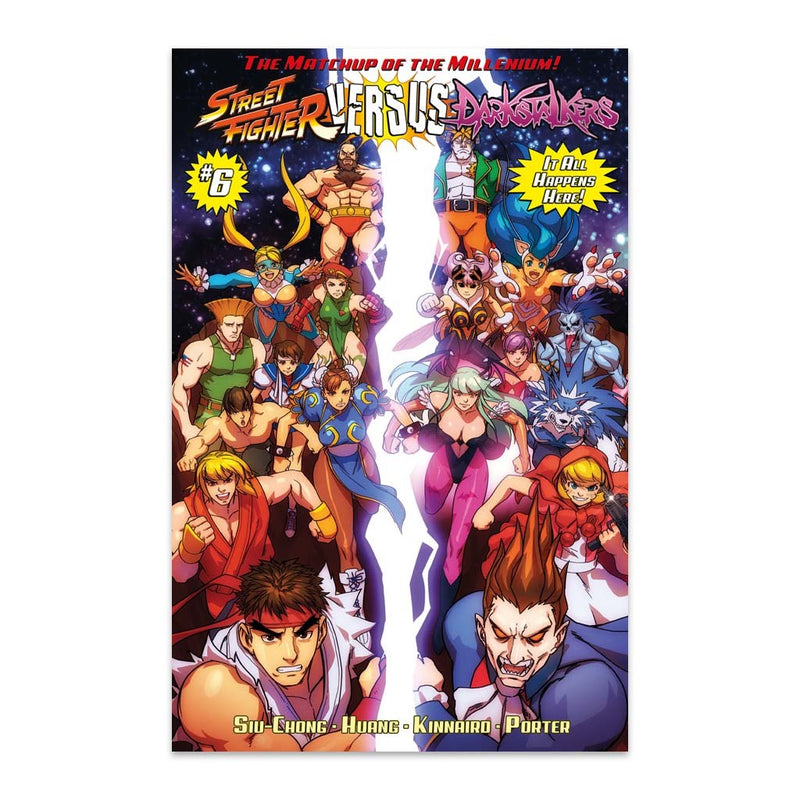 Street Fighter VS. Darkstalkers Issue