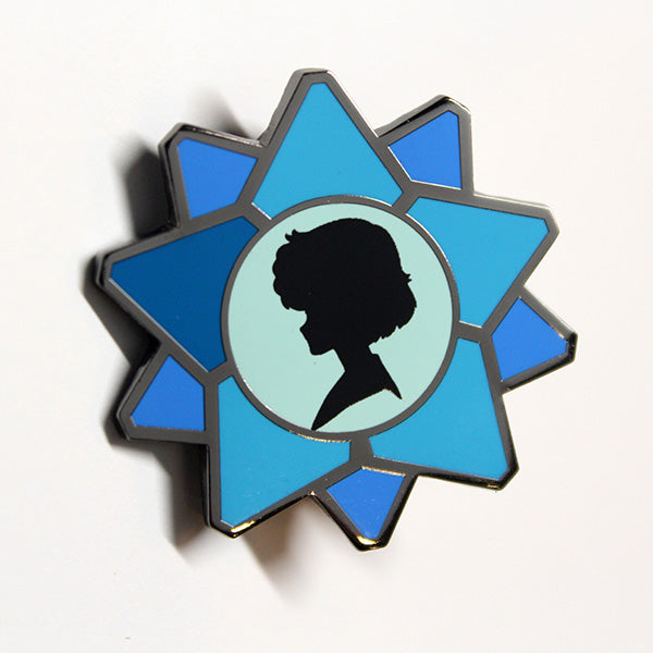 Sailor Moon Crystal Character Icon Pin - Sailor Mercury