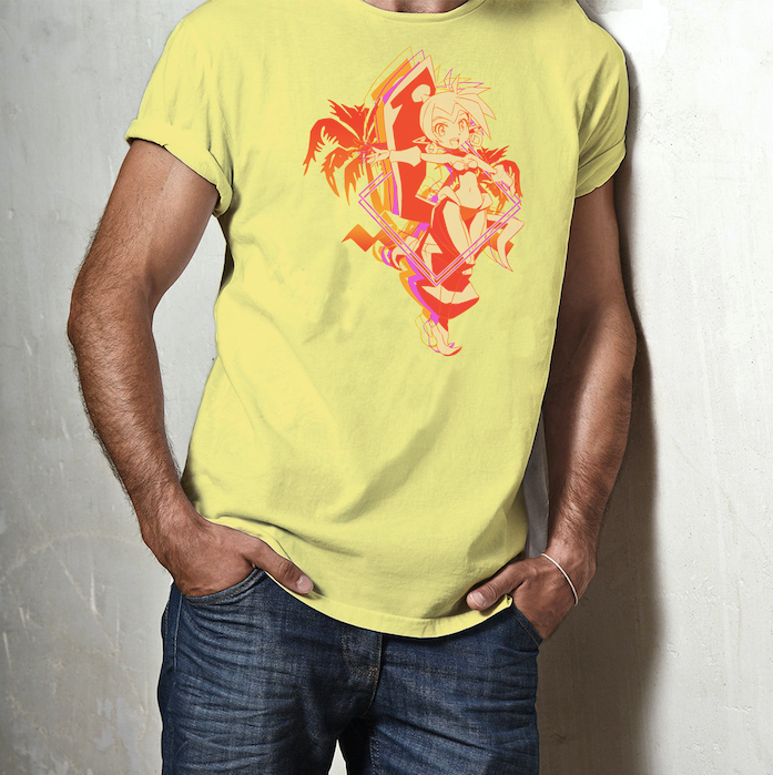 Shantae Sunset Icon Tee