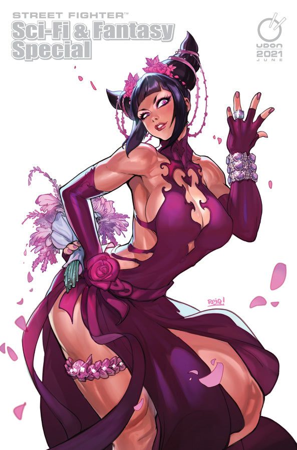 PRE-ORDER 2021 Street Fighter Sci-Fi & Fantasy Special CVR X2 - Bride of S.I.N. Juri - Online Exclusive