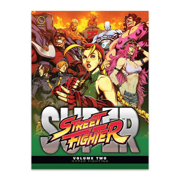 Super Street Fighter Vol.2: Hyper Fighting (Hardcover)