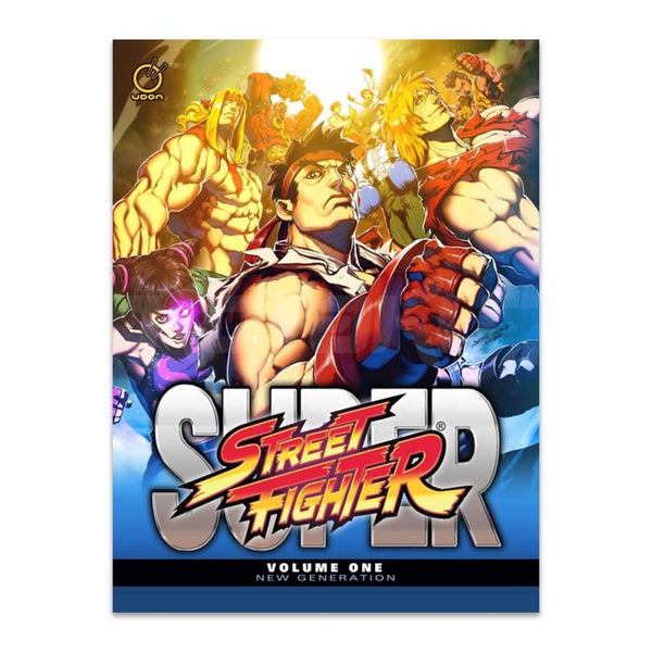 Super Street Fighter Vol.1: New Generation (Hardcover)