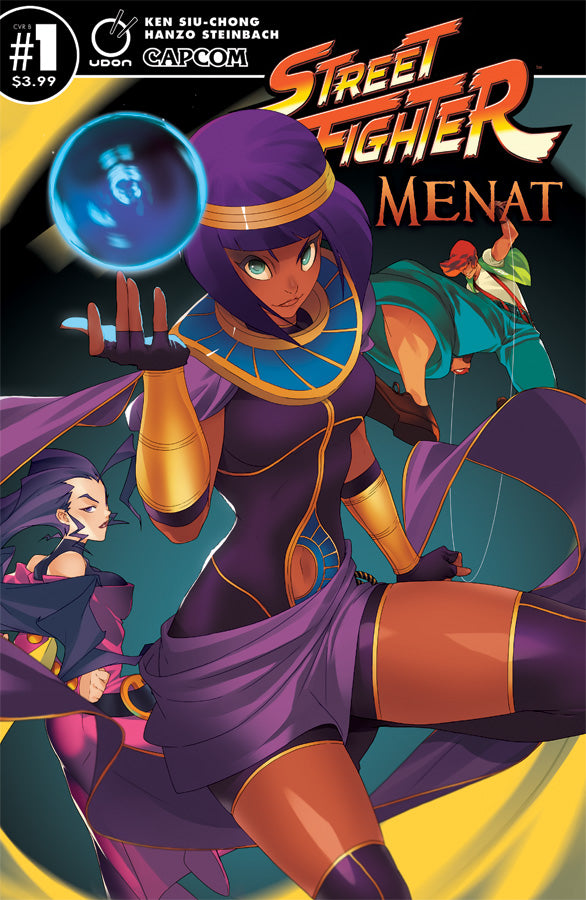 Street Fighter: Menat  #1 Cover B