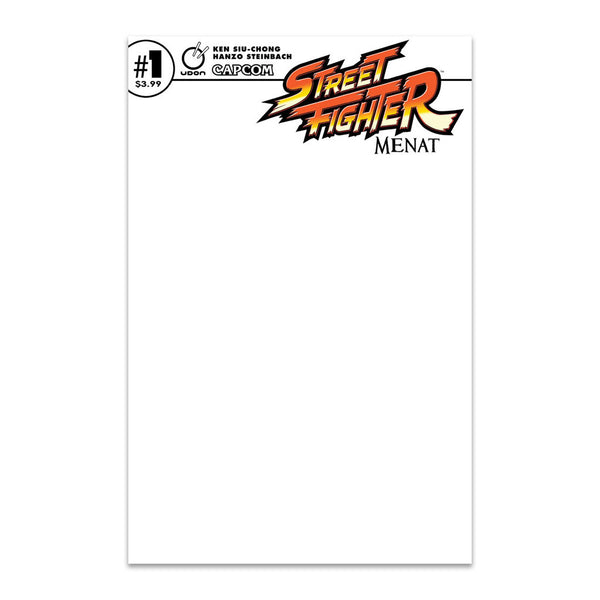 Street Fighter: Menat  #1 Cover C Sketch Cover