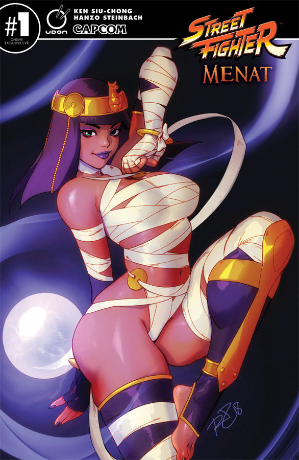 Street Fighter: Menat  #1 UDON-Exclusive CVR X