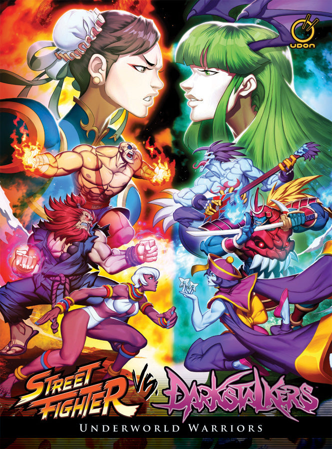 Street Fighter VS Darkstalkers: Underworld Warriors