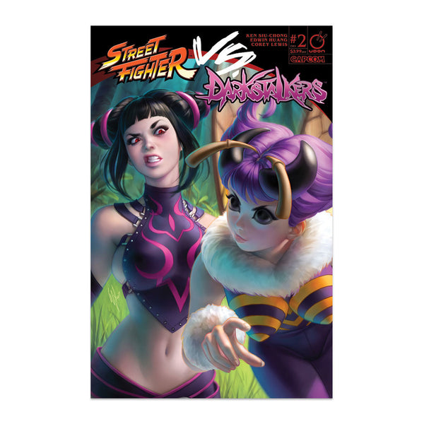 Street Fighter VS. Darkstalkers #2 1:20 Incentive CVR Warren Louw