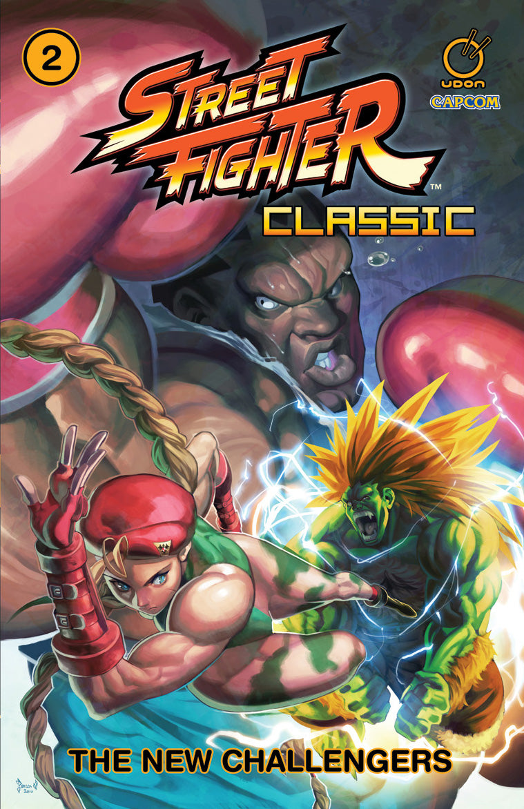 Street Fighter Classic Volume 2: The New Challengers