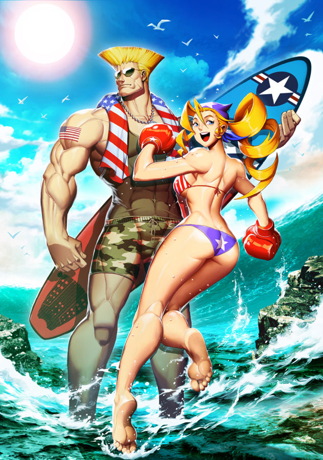 2017 Street Fighter Swimsuit Special - UDON-Exclusive Tsuji Santa Cover