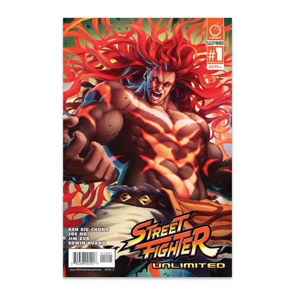 Street Fighter Unlimited #1 UDON-Exclusive Necalli Cover