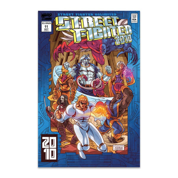 Street Fighter Unlimited #11 Incentive 1:10 CVR C Homage Cover