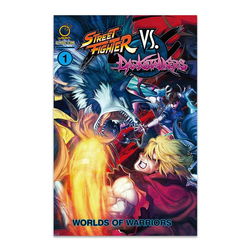 Street Fighter vs Darkstalkers Volume 1 & 2 Softcover Set