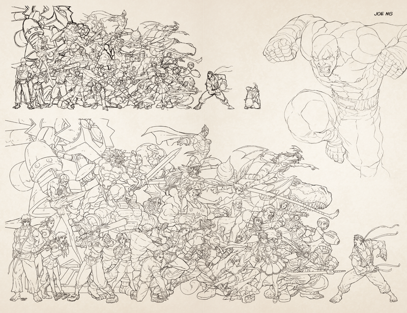 UDON X Capcom: Sketchbook Alpha - CVR A - Online Exclusive