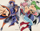 UDON X Capcom: Sketchbook Alpha - CVR  B - Online Exclusive