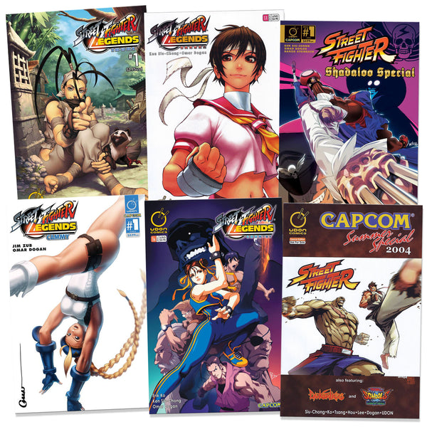 Bundle - Street Fighter Comic Sampler 2