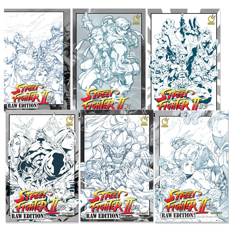 Bundle - Street Fighter II Raw Editions