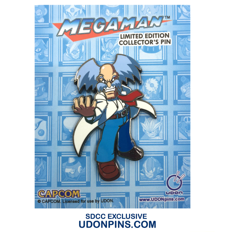 Mega Man Robot Masters Collector's Pin - Dr. Wily - SDCC 2020 EXCLUSIVE