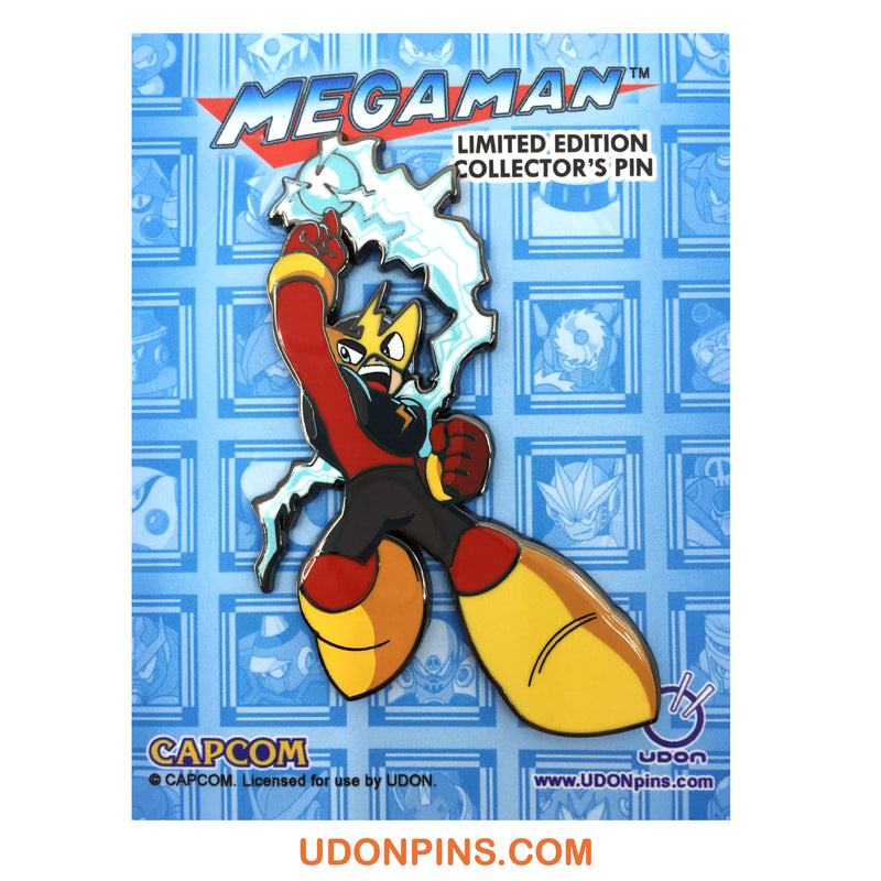 MEGA MAN 8 PIN ROBOT MASTER COLLECTOR PIN SET