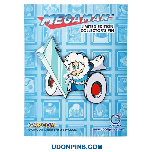 Mega Man Robot Masters Collector's Pin - Ice Man