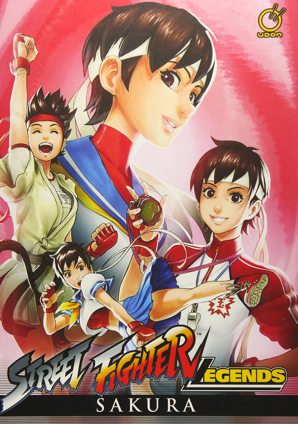Street Fighter Legends: Sakura (Hardcover)