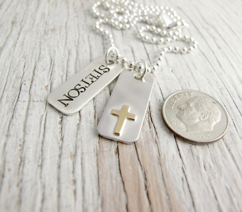 Mother's Tag Necklace