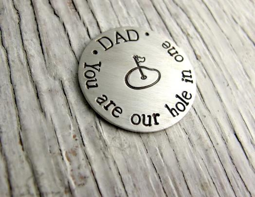 Personalized Golf Ball Marker with Case