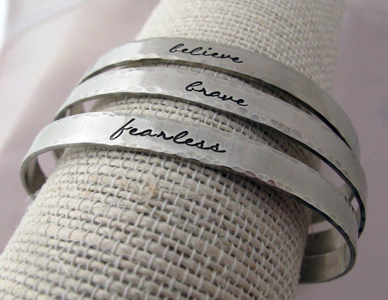 Inspirational Cuff, Choose your Word