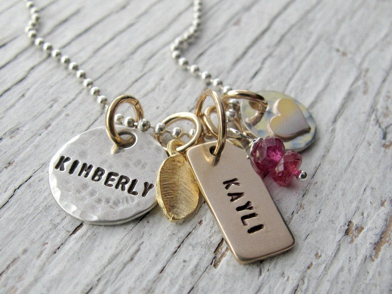 TINY Cluster Charm Necklace