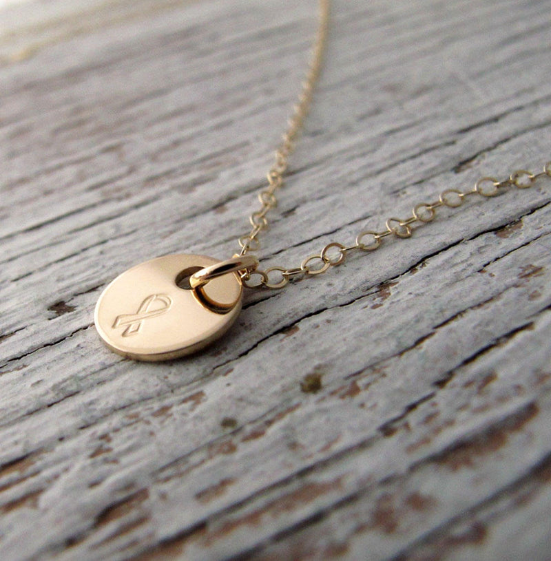 Breast Cancer Necklace, Awareness