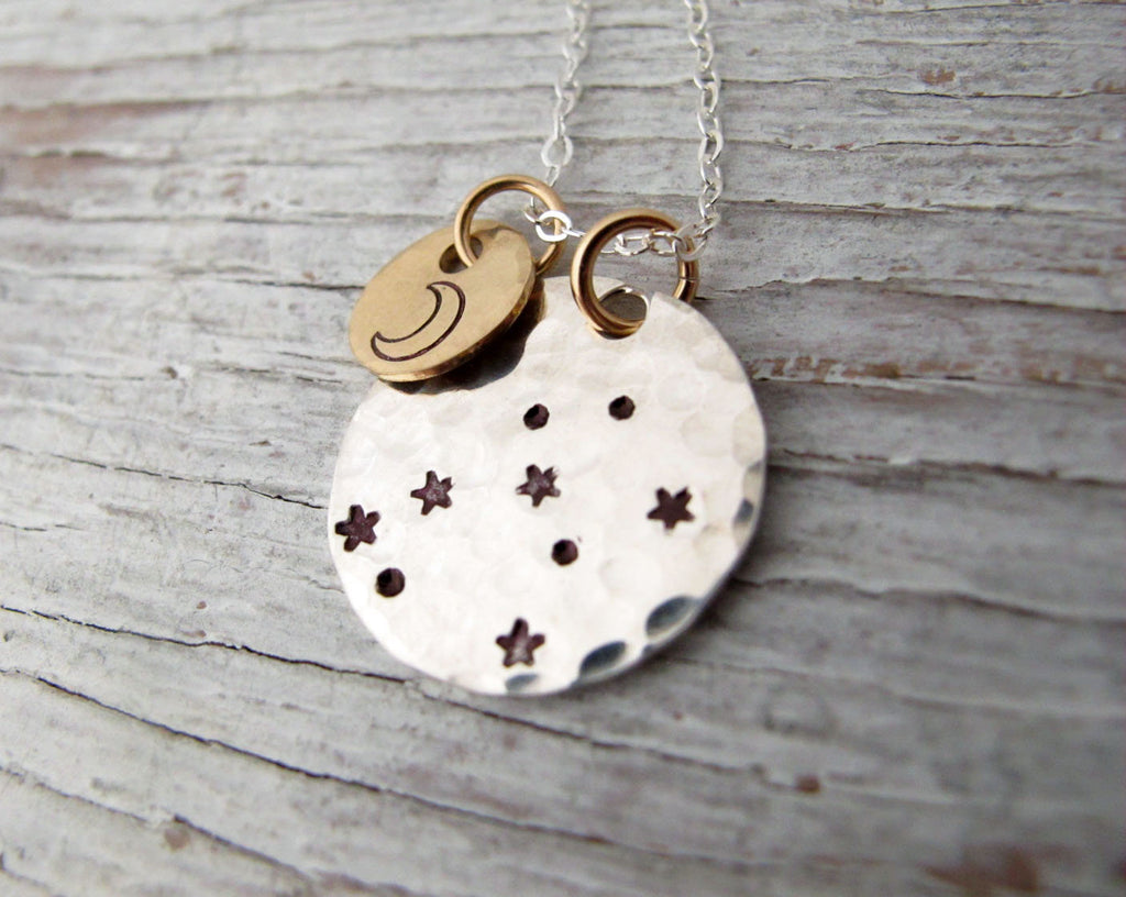 Zodiac Necklace, Constellation Jewelry