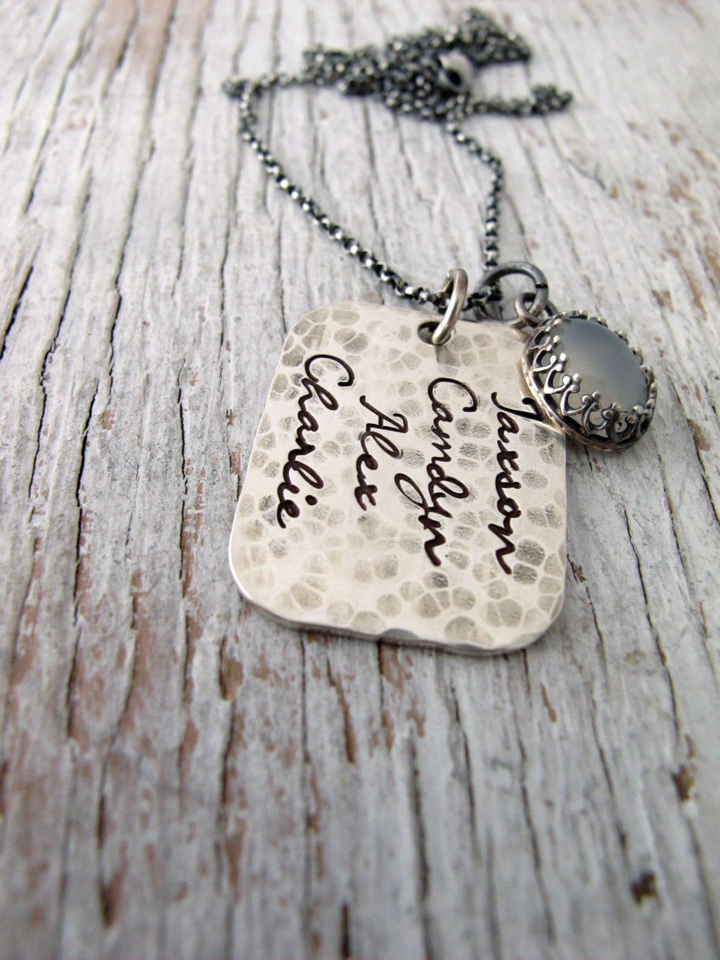 Rustic Mother's Necklace