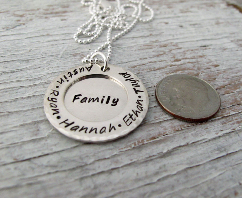Surrounded by Love, Family Necklace