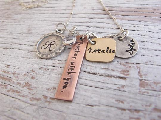 Better With You Mixed Metals Necklace