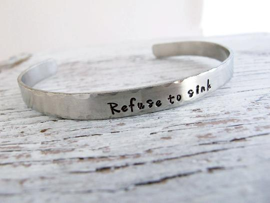 Refuse to Sink Cuff