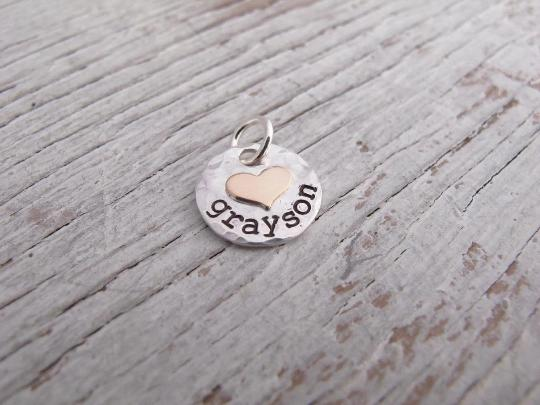 Add a Charm, Kids Name Necklace