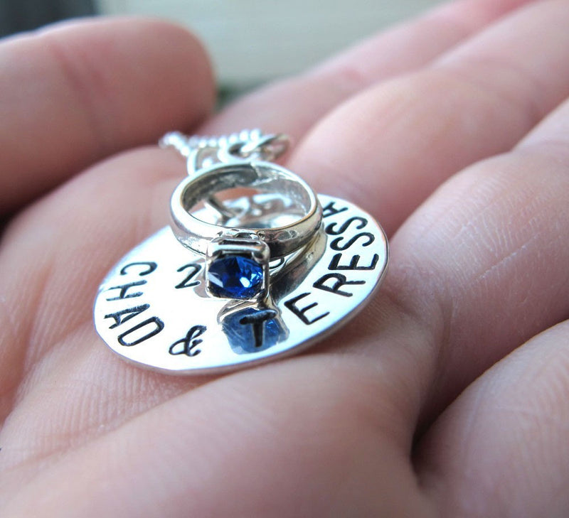 Engagement Gift, Anniversary Necklace