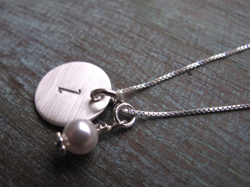 One Initial Necklace