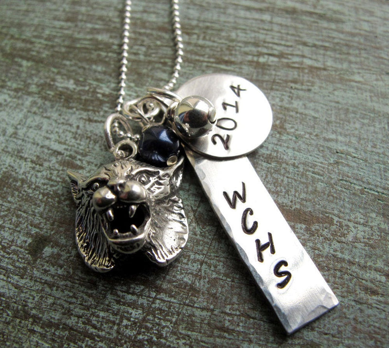 Graduation Necklace, Personalized