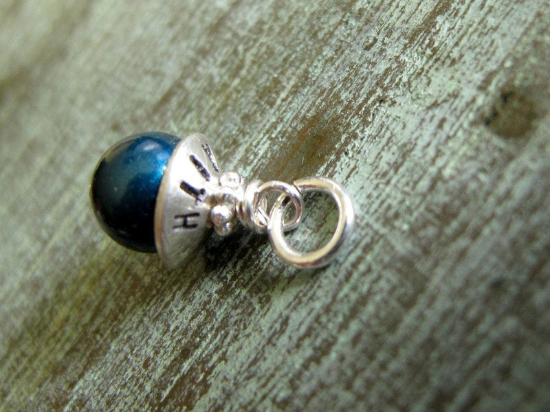 Add a Bead Cap Pearl Birthstone