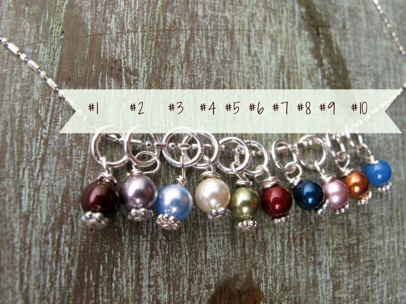 Sterling Silver Charm and Pearl Birthstone, ADD ON