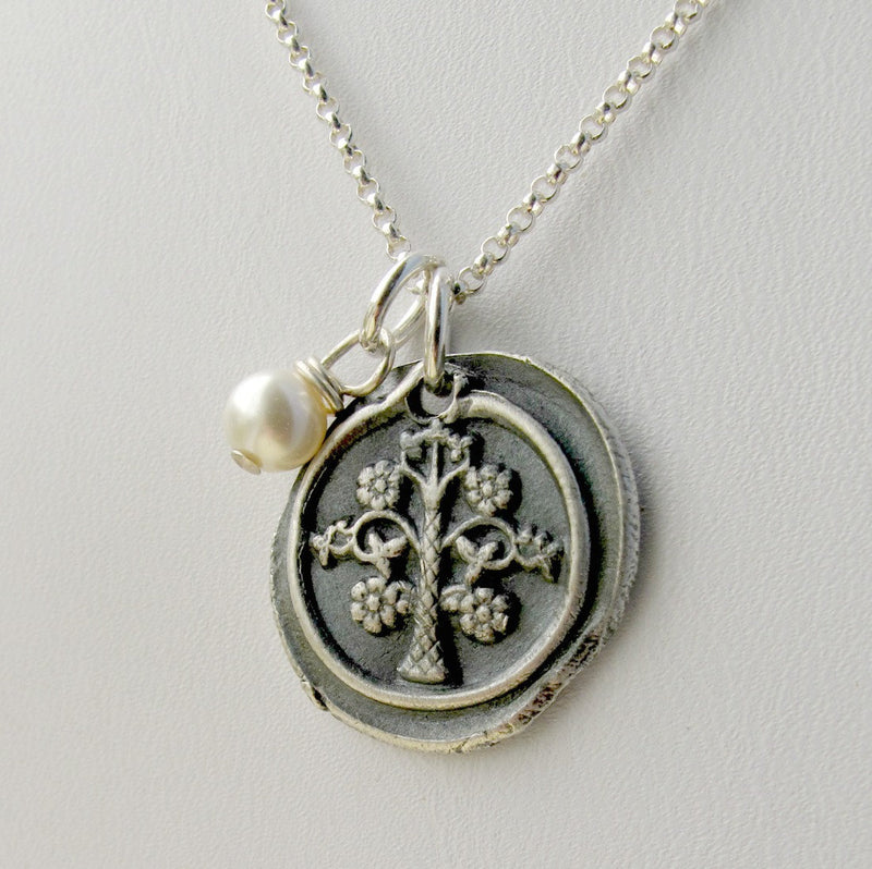 Family Tree Necklace, Tree of Life