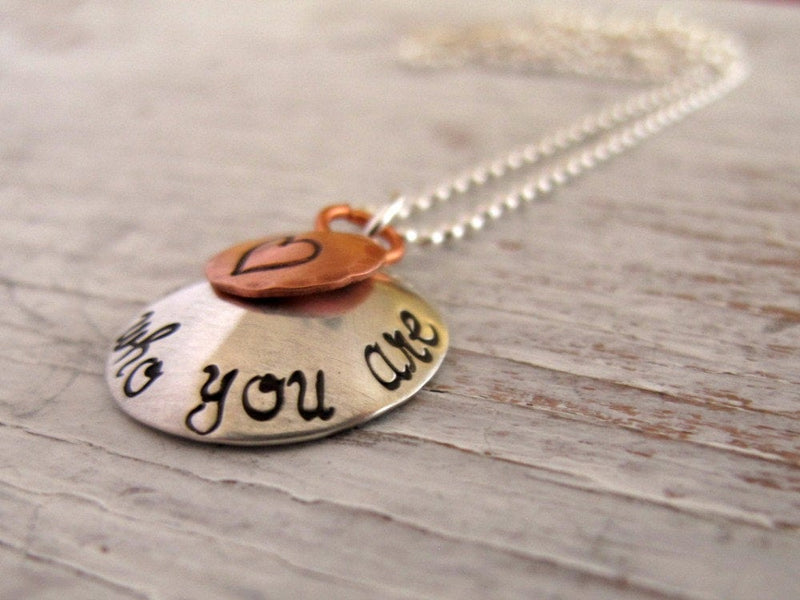 Be Who You Are Necklace