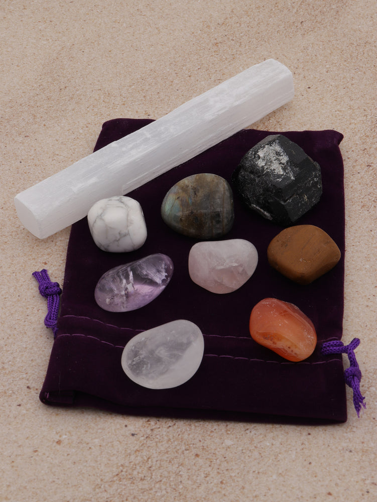 Heart of a Warrior Woman Crystal Kit - Amy Basingstoke