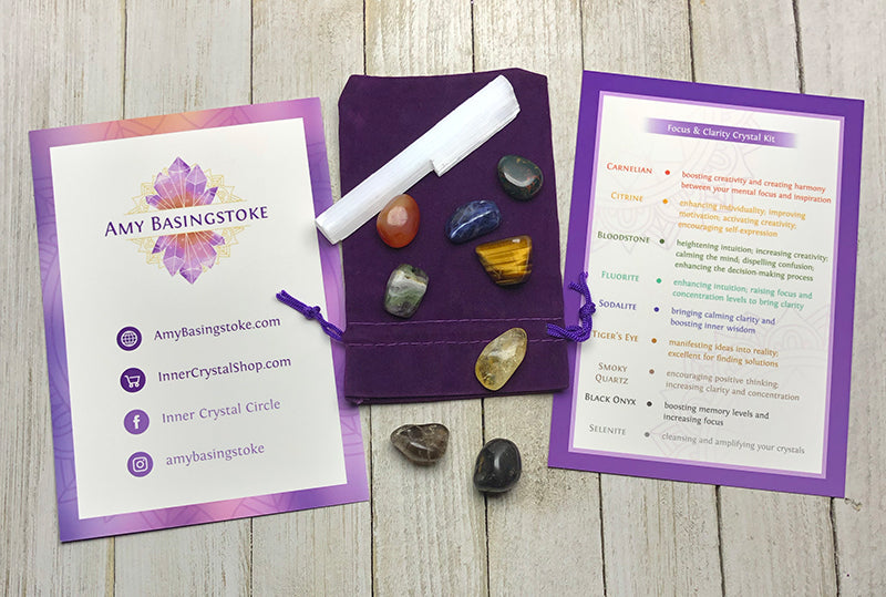 Focus & Clarity Crystal Kit - Amy Basingstoke