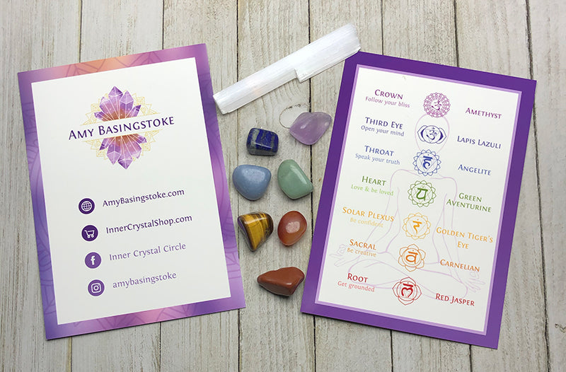 Chakra Balancing Crystal Kit - Amy Basingstoke