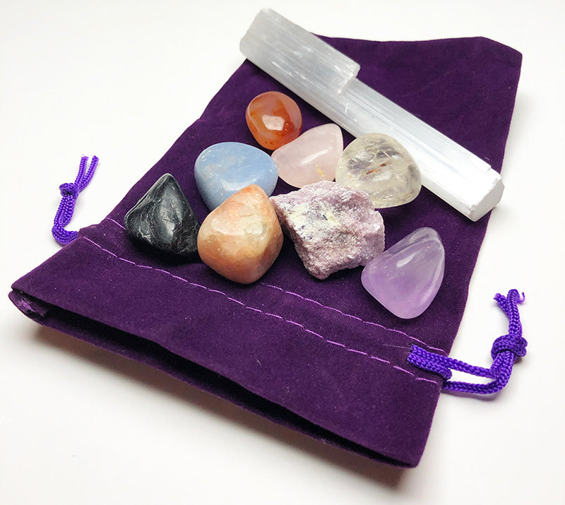 Anxiety & Stress Relieving Crystal Kit - Amy Basingstoke