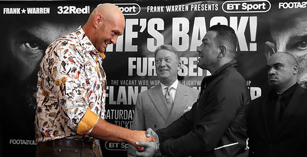 The return of the Gypsy King- and the history on comebacks