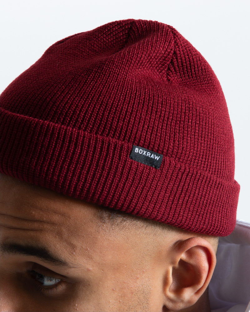 BOXRAW Beanie Hat - Red